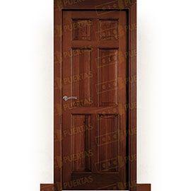 Puertas Rústicas de Interior:  Puerta Block Maciza Mod. Altamira