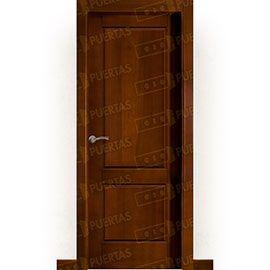 Puertas Rústicas de Interior:  Puerta Block Maciza Mod. Altea