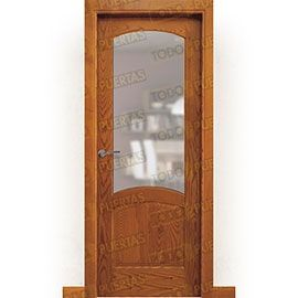 Puertas Rústicas de Interior:  Puerta Block Maciza Mod. Ares ZV1
