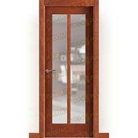 Puertas de Interior de Madera:  Puerta Block Maciza Mod. Baudelaire V2