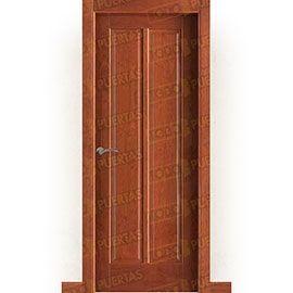 Puertas Rústicas de Interior:  Puerta Block Maciza Mod. Baudelaire