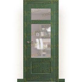 Puertas Rústicas de Interior:  Puerta Block Maciza Mod. Bulgakov V2
