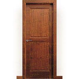 Puertas Rústicas de Interior:  Puerta Block Maciza Mod. Figueroa