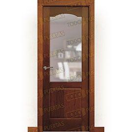 Puertas de Interior de Madera:  Puerta Block Maciza Mod. Gadamer ZV1