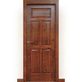 Puertas Rústicas de Interior:  Puerta Block Maciza Mod. Jambrina
