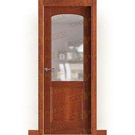 Puertas Rústicas de Interior:  Puerta Block Maciza Mod. Lawrence ZV1