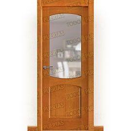 Puertas Rústicas de Interior:  Puerta Block Maciza Mod. Miró Miel ZV1