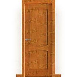 Puertas Rústicas de Interior:  Puerta Block Maciza Mod. Miró Miel