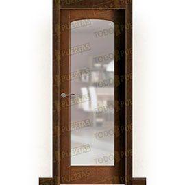 Puertas Rústicas de Interior:  Puerta Block Maciza Mod. Monterroso V1