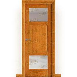Puertas de Interior de Madera:  Puerta Block Maciza Mod. Ovidio V2
