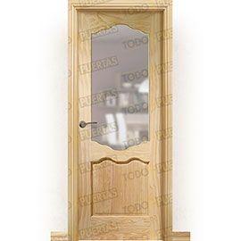 Puertas de Interior de Madera:  Puerta Block Maciza Mod. Perrault ZV1