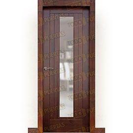 Puertas de Interior de Madera:  Puerta Block Maciza Mod. Puzo ZV1C