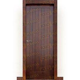 Puertas Rústicas de Interior:  Puerta Block Maciza Mod. Puzo