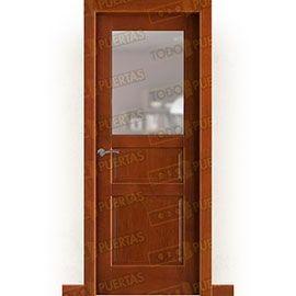 Puertas de Interior de Madera:  Puerta Block Maciza Mod. Rilker ZV1