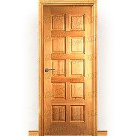 Puertas Rústicas de Interior:  Puerta Block Maciza Mod. Woolf