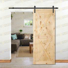 Puertas Baratas y Accesorios para puertas:  Puerta de pino macizo tipo Granero Mod. Machado
