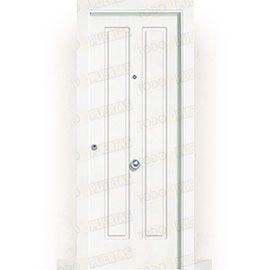 Puertas de Entrada y de Exterior de Madera:  Puerta de Entrada Blindada Blanca Mod. Chopin