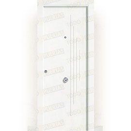 Puertas Blindadas:  Puerta de Entrada Blindada Blanca Mod. Dala