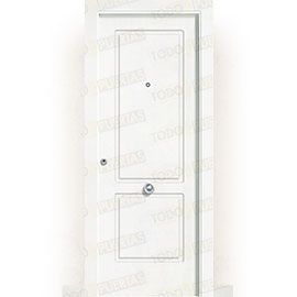 Puertas de Entrada y de Exterior de Madera:  Puerta de Entrada Blindada Blanca Mod. Gabón