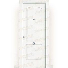 Puertas de Entrada y de Exterior de Madera:  Puerta de Entrada Blindada Blanca Mod. Ghana