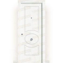 Puertas de Entrada y de Exterior de Madera:  Puerta de Entrada Blindada Blanca Mod. Guinea