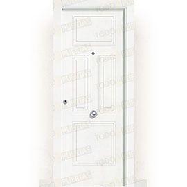 Puertas Blindadas:  Puerta de Entrada Blindada Blanca Mod. Kabul