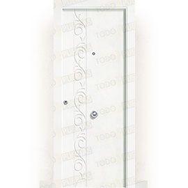 Puertas Blindadas:  Puerta de Entrada Blindada Blanca Mod. Lhasa