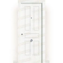 Puertas Blindadas:  Puerta de Entrada Blindada Blanca Mod. Suva