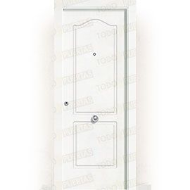 Puertas de Entrada y de Exterior de Madera:  Puerta de Entrada Blindada Blanca Mod. Togo