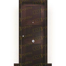 Puertas Blindadas:  Puerta de Entrada Blindada Clásica Atlantes Wengue