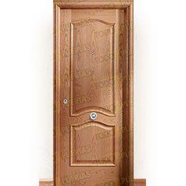 Puertas de Entrada y de Exterior de Madera:  Puerta de Entrada Blindada Clásica Big-Ben