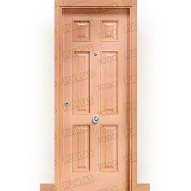 Puertas Blindadas:  Puerta de Entrada Blindada Clásica Petra