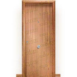 Puertas Blindadas:  Puerta de Entrada Blindada Moderna Islandia Cerezo