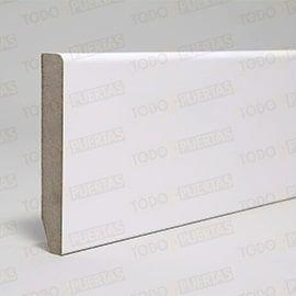 Puertas Baratas y Accesorios para puertas:  Paquete de Rodapié Blanco Mod. 101 (10 tiras)