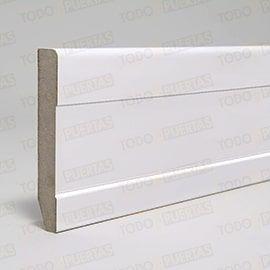 Rodapiés Blancos y de Madera:  Rodapie Mod. 105