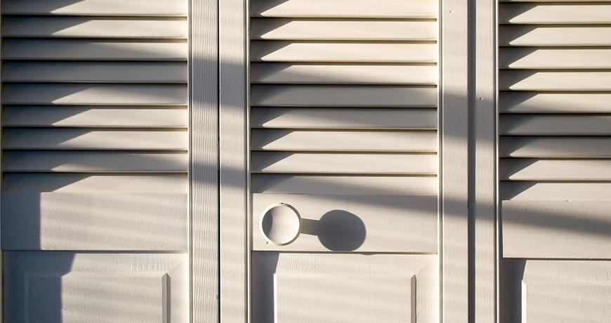 Gana espacio y decora con las puertas plegables