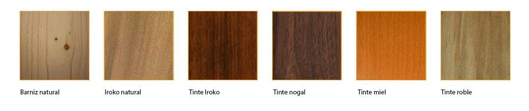 Acabados de nuestros portones de madera