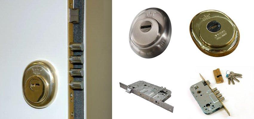 Cerraduras de seguridad para Puertas Acorazadas