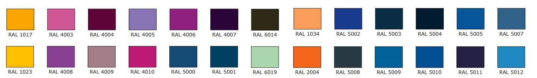 Colores de puertas lacadas ColorLac