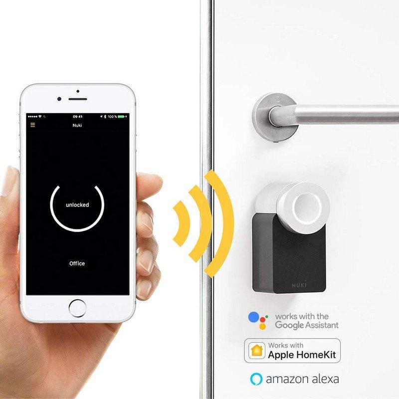 Nuki Smart lock para Puertas acorazadas