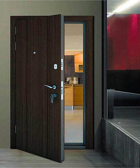 Puertas de entrada para un piso