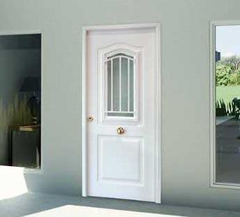 Puertas de entrada galvanizadas