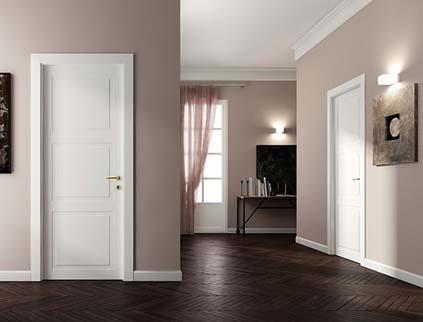 Ventajas de las puertas lacadas blancas
