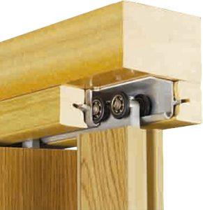 Carril Puertas Plegables de madera