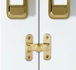 Condena centro para puertas plegables