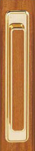 Tirador oro para puertas plegables