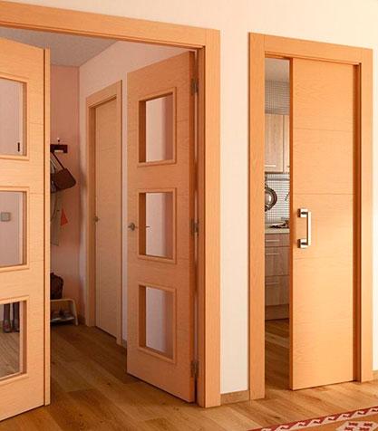 Composición de las Puertas de madera