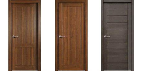 Modelos de puertas rústicas Bronte, Beckett y Cervantes