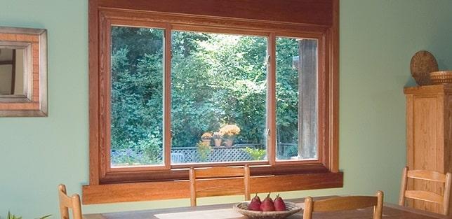 Aperturas de las ventanas de madera
