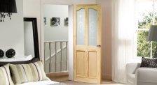 Puertas de interior Clásicas con vidriera